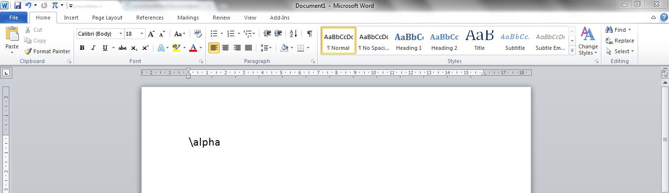 Quickly Add Symbols In Ms Word Prashanth Techwizworx