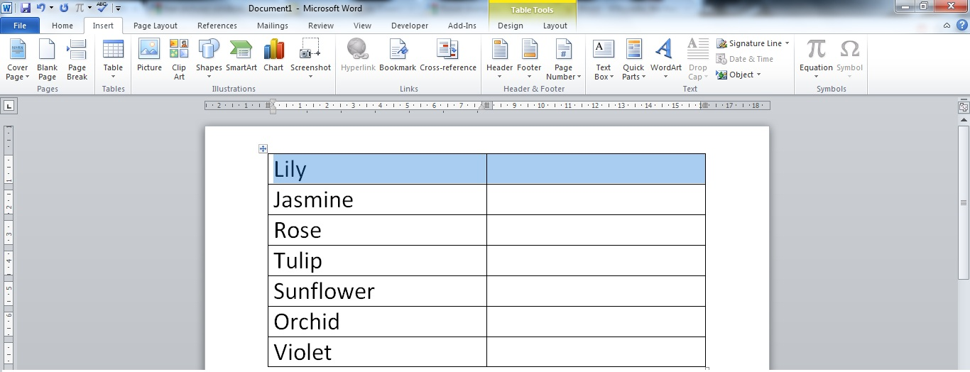 Move swap text in a page table in ms word prashanth - Move table rows up and down using jquery ...